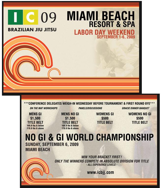 Fight to win, Steve Dubiel, Brazilian Jiu Jitsu, Postcard Design
