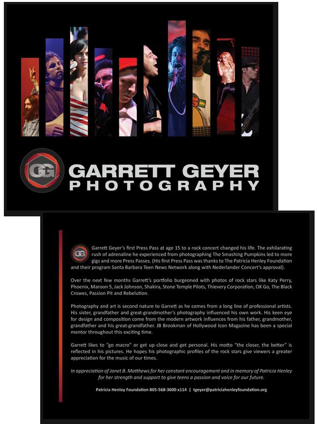 Garrett Geyer, Photography, Postcard Design