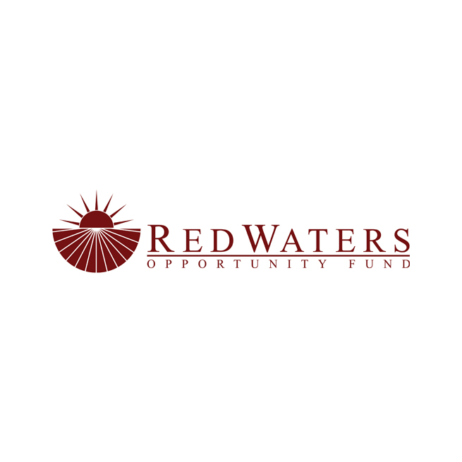 Bank Finicial Logo Design Red Waters Opportunity Fund