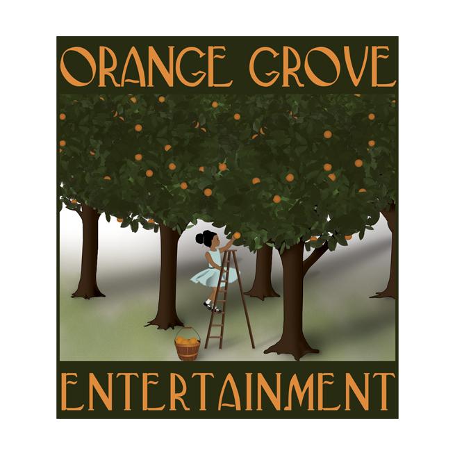 Logo Design: Orange Grove Entertainment, Hollywood