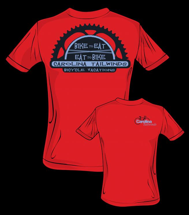 Bicycle t-shirt design