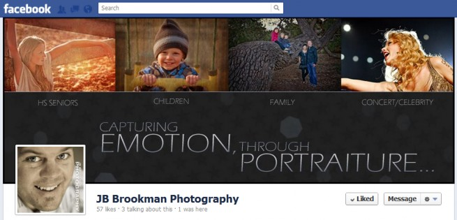 facebook cover design timeline - Photography Cover Page