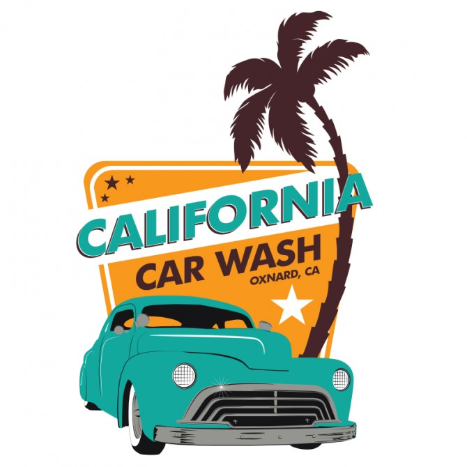 California Car Wash – Logo Design