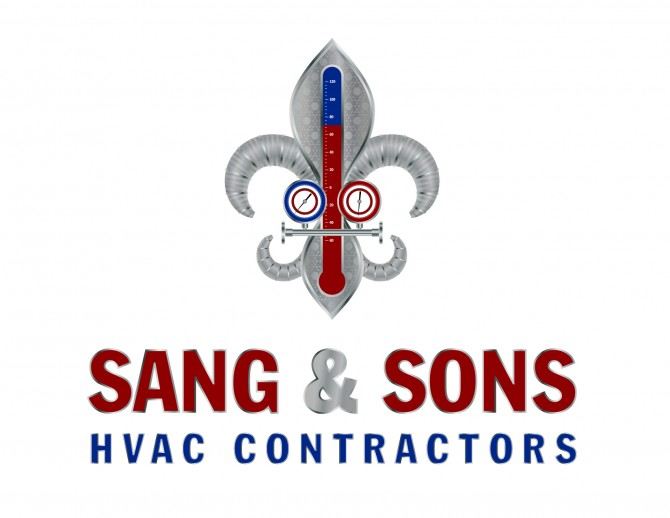 Logo Design- Sang & Sons HVAC Contractors- Nashville