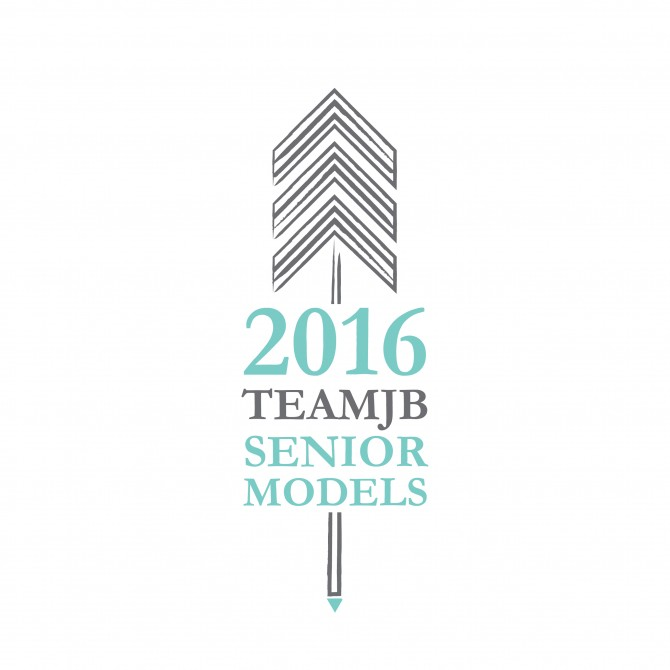 2016 Team JB Senior Model Program- Senior Portraits- Franklin, TN Logo Design