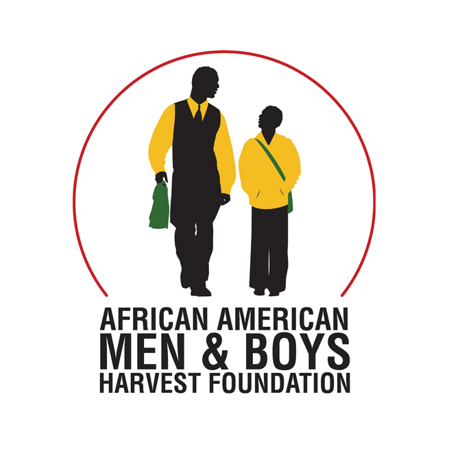 African American Men and Boys Harvest Foundation Logo Design
