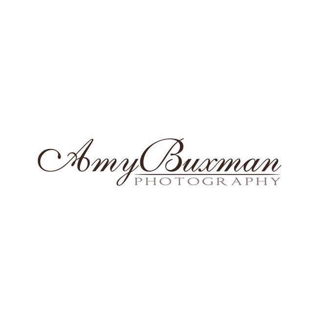 Amy Buxman Photography Logo Design, Text, Script