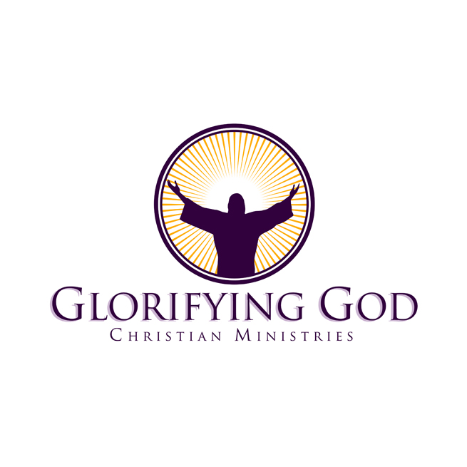 Glorifying God Logo Design, Christian, Church, Ministries, Ministry
