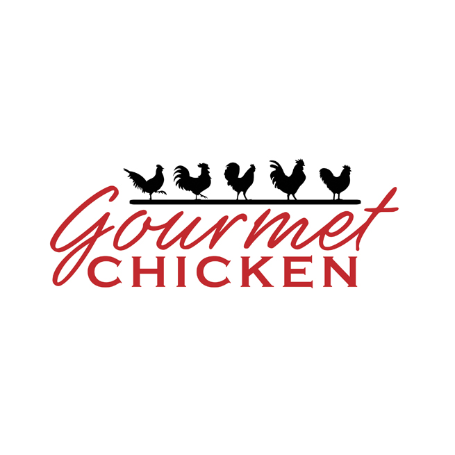 Gourmet Chicken Logo Design, Chickens, Restaurant