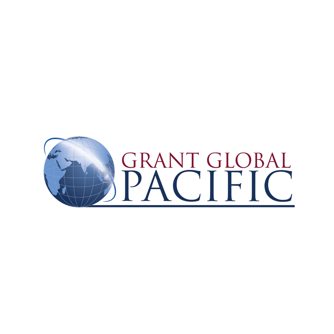 Grant Global Pacific Logo Design, World, Earth