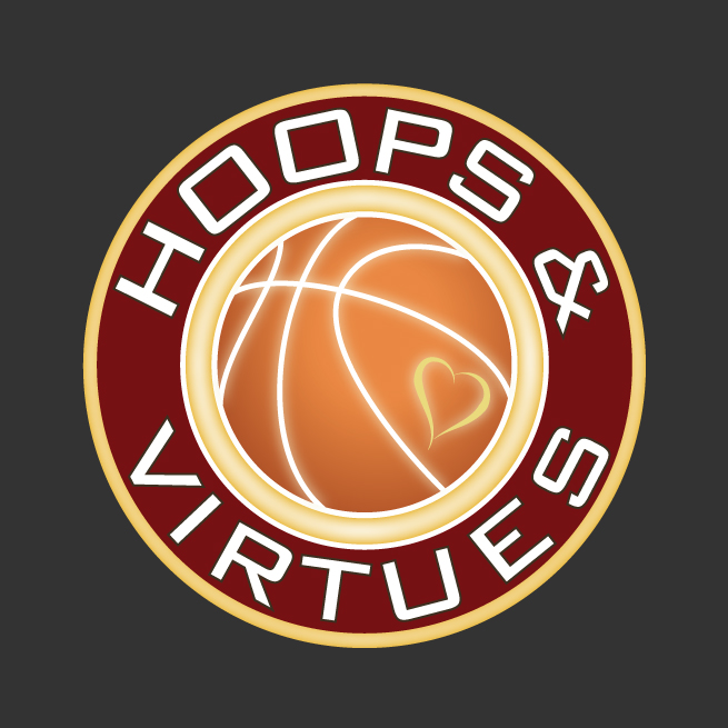 Hoops and Virtues Logo Design, Basketball