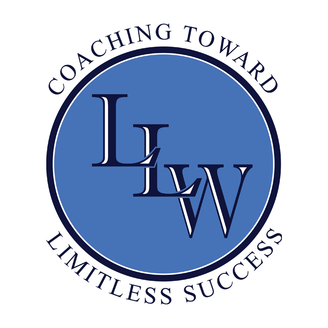 LLW Logo Design, Coaching, Career, Success