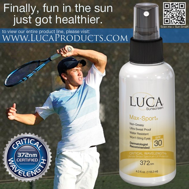 Ad Design – LUCA Sunscreen Max Sport