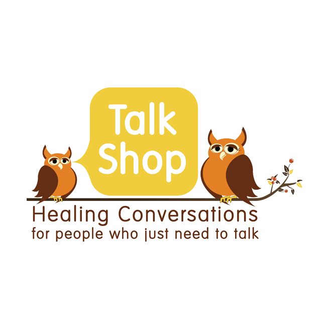 Talk Shop Logo Design, Therapist, Counselor