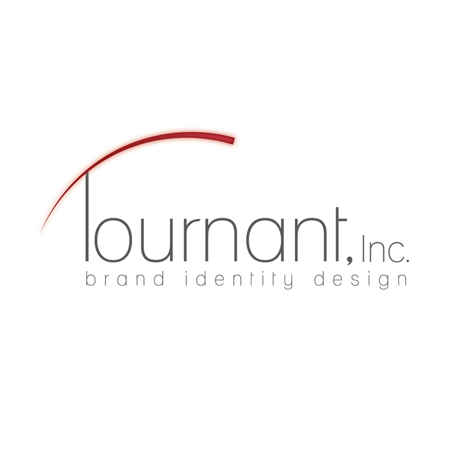 Tournant, Inc. Logo Design, Social Media