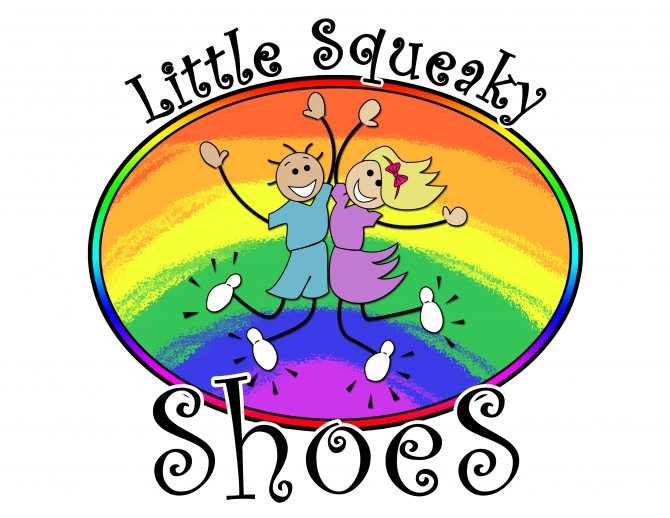 Logo Design: Little Squeaky Shoes, Australia