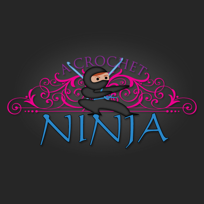 A Crochet Ninja Logo Design