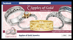 Facebook Timeline Cover Design – Apples of Gold