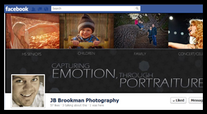Facebook Cover Design – JB Brookman Photography, Franklin, TN