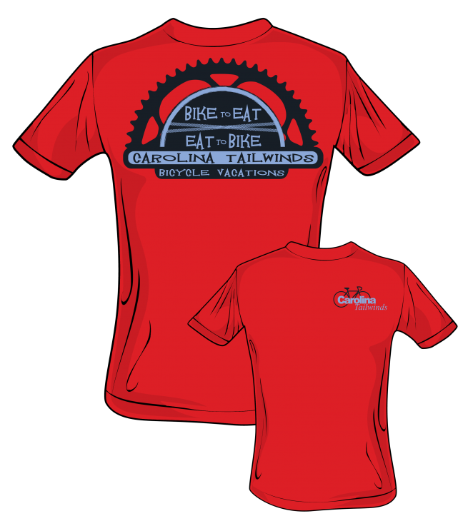 Bicycle t-shirt design
