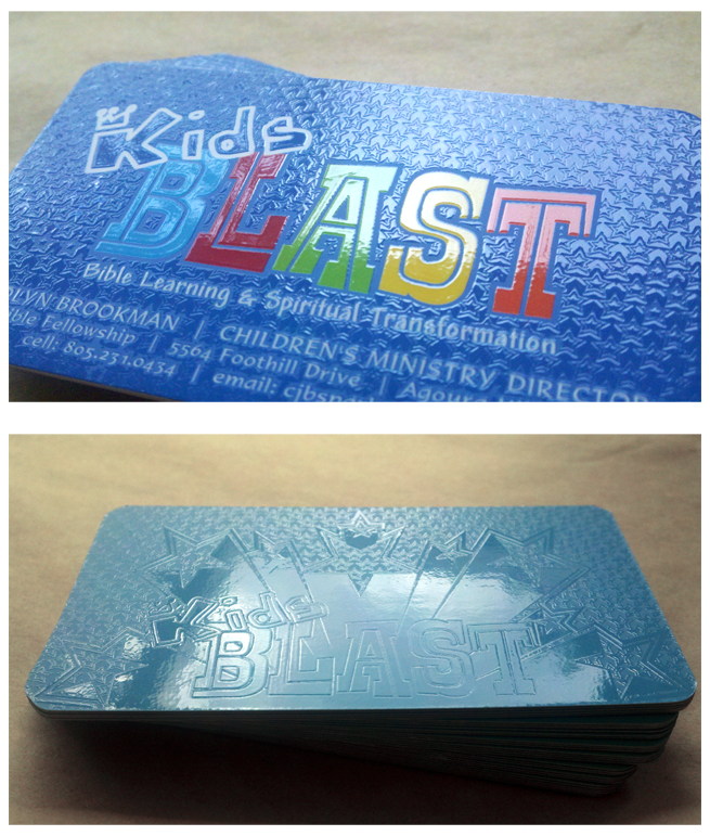 Kids Blast – Business Card Design & Printing – Nashville Graphic ...