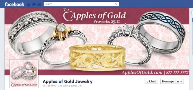 Facebook Timeline Cover, Apples of Gold