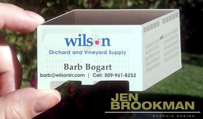 Wilson Orchard & Vineyard Supply – Business Card Design