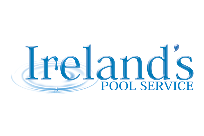 Pool Service Logo Design, Southern California, Ireland's Pool Service, Jen Brookman