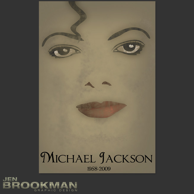 Happy 54th Birthday, Michael Jackson!- Poster Design
