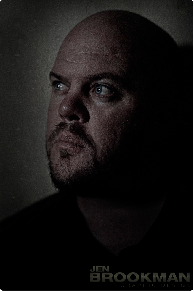 Light + Texture in Photography- Portrait Of My Husband
