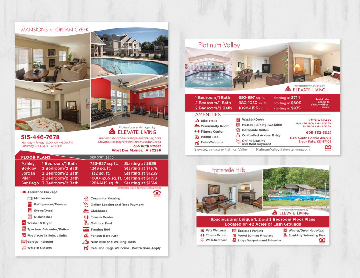 Real Estate Ad Design Branding