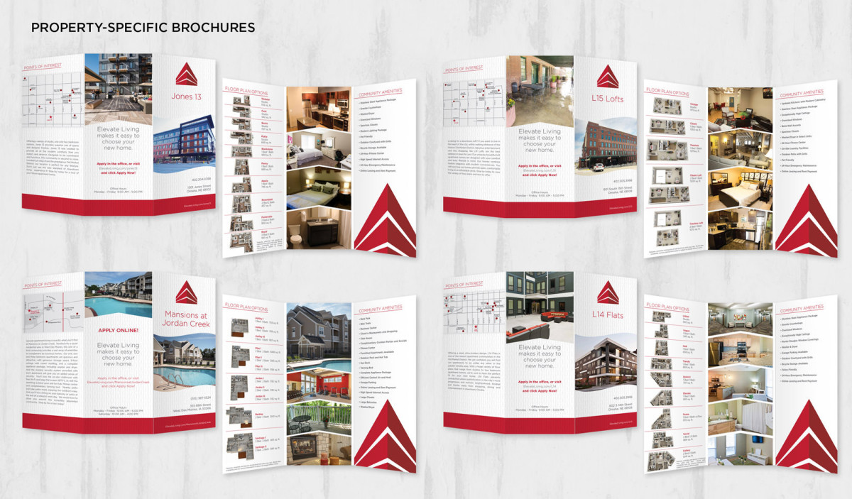 Real Estate Brochure Layout Design