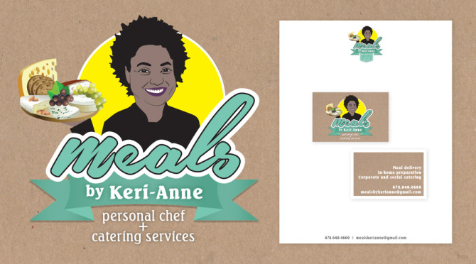 Meals by Keri-Anne Logo Design