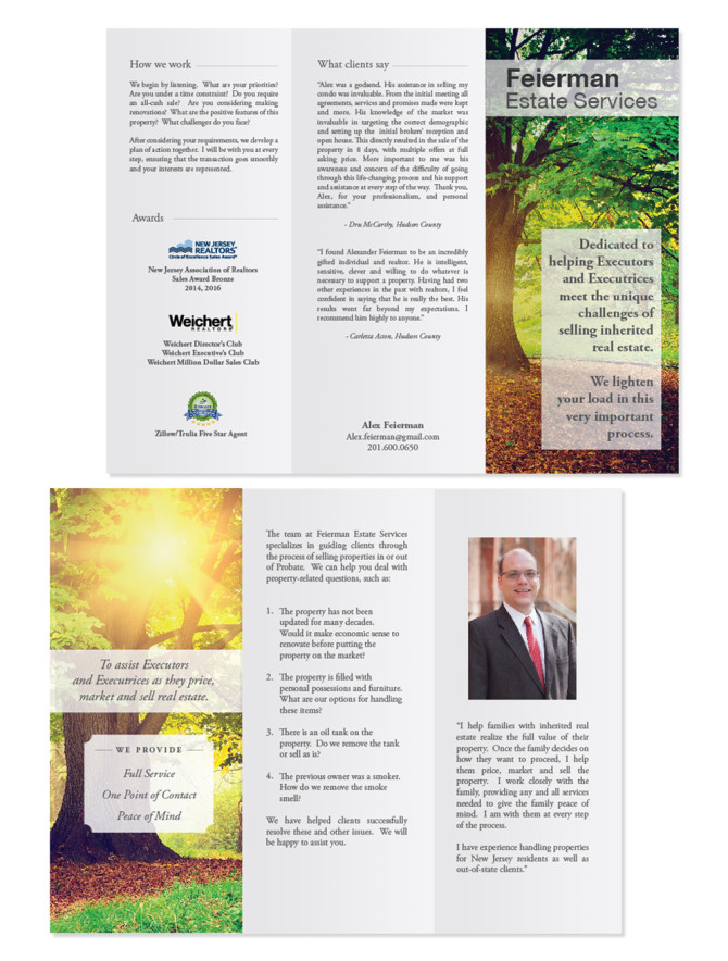 Estate Services Brochure