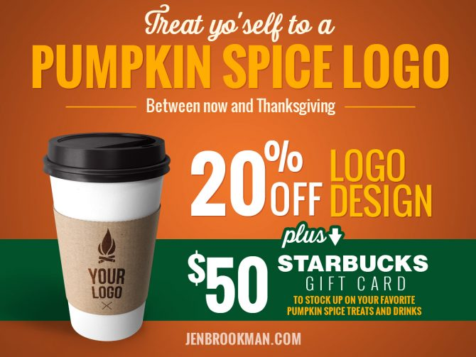 It's Pumpkin Spice Logo Season!