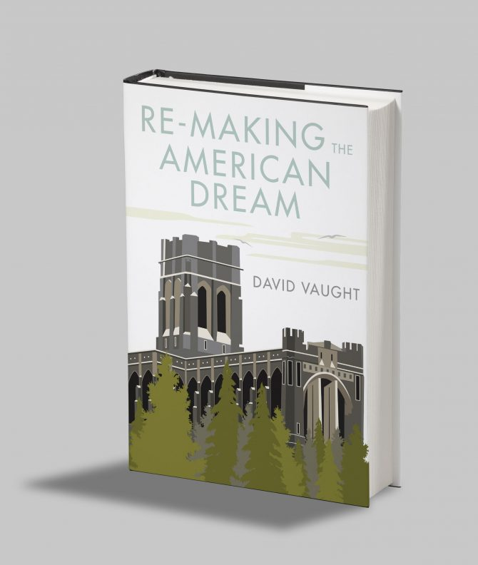 Book Cover Design for Author David Vaught
